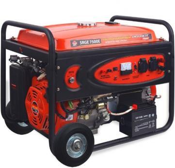 Купить Бензиновый генератор PATRIOT SRGE 7500E Auto Москва