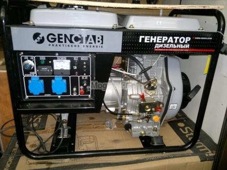 Дизельный генератор GENCTAB GSDG-6000CLEH-W