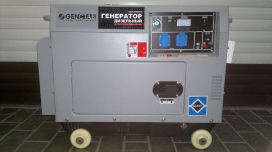 Дизельный генератор GENCTAB GSDG-6000SATS