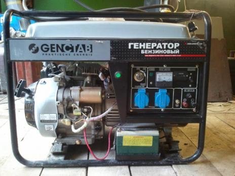 Генератор однофазный GenCtab GSG- 2500CL