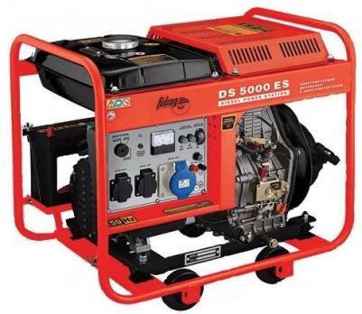 Купить Дизельный генератор FUBAG DS 5000 ES Москва