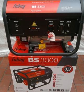 Купить Бензиновый генератор Fubag BS 3300 Москва