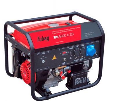 Купить Бензиновый генератор Fubag BS 5500 A ES Москва