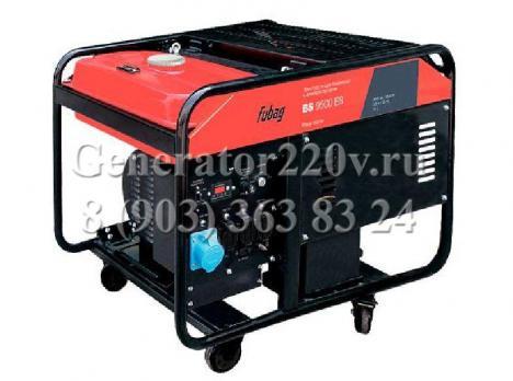 Купить Бензиновый генератор Fubag BS 9500 ES Москва