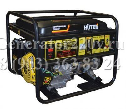Купить Бензиновый генератор Huter DY 6500 L Москва