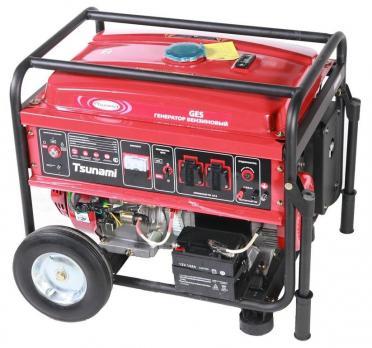 Купить Бензиновый генератор Tsunami GES 5500Е