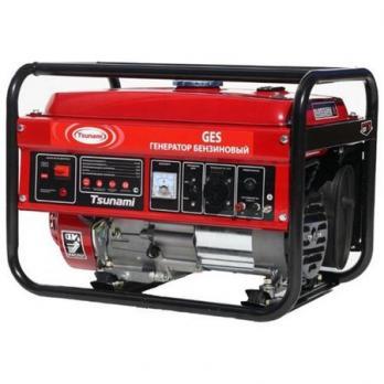 Бензиновый генератор Tsunami GES 6500