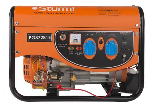 Бензиновый генератор Sturm PG87281E