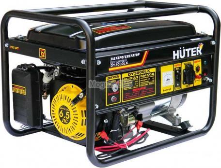 Купить Бензиновый генератор HUTER DY 3000 LX Москва