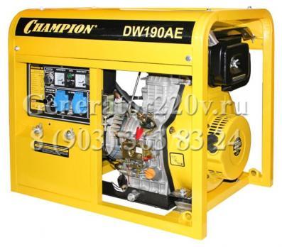Купить Электрический генератор сварочный Champion DW190AE Москва, цена