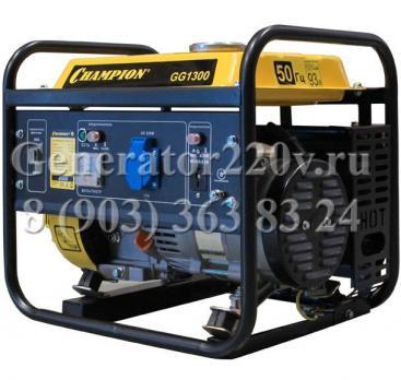 Купить Бензиновый генератор Champion GG1300 Москва, цена