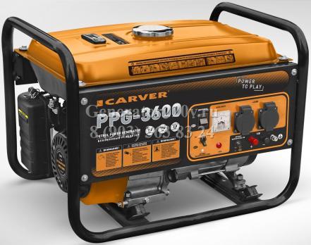 Купить Бензиновый генератор CARVER PPG 3600 Москва
