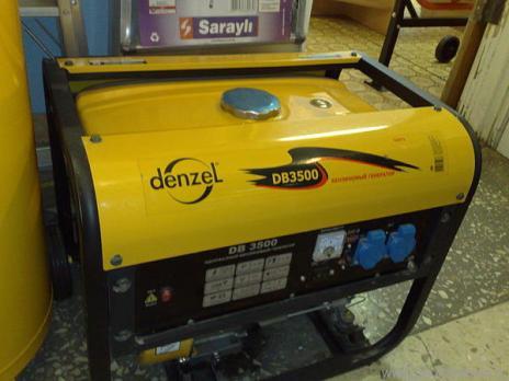 Купить Генератор бензиновый DENZEL DB 3500 Москва