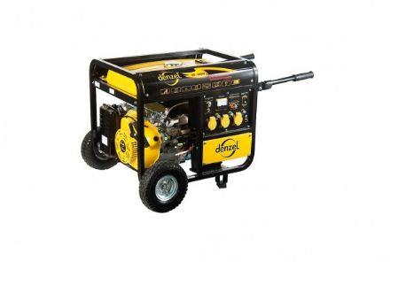 Купить Генератор бензиновый DENZEL DB 7500 Е Москва