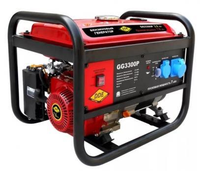 Купить Бензиновый генератор DDE GG 3300 P цена 14600 руб Москва