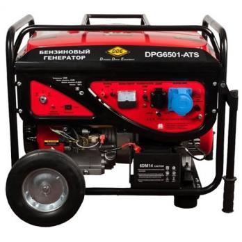 Купить Бензиновый генератор DDE DPG 6501 E ATS цена 51400 руб Москва