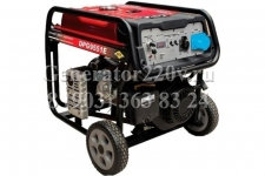 Купить Бензиновый генератор DDE DPG 9551 E цена 43200 руб Москва