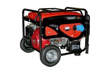 Купить Бензиновый генератор DDE DPG 6551 Е
