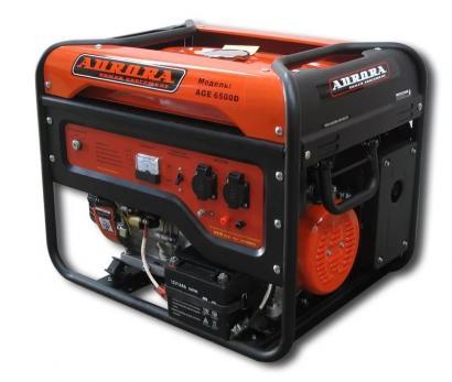 Купить Бензиновый генератор Aurora AGE 6500 D цена 20950 руб
