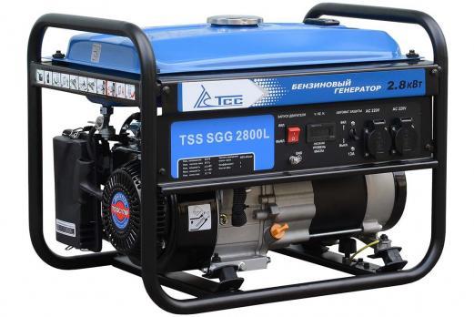 Бензиновый генератор ТСС SGG 2800L Москва