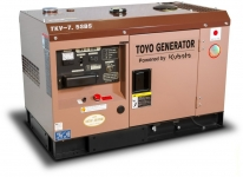Дизельный генератор Toyo TKV-7.5SBS в кожухе Москва