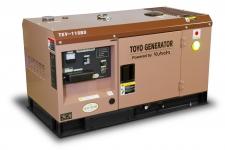 Дизельный генератор Toyo TKV-11SBS в кожухе Москва