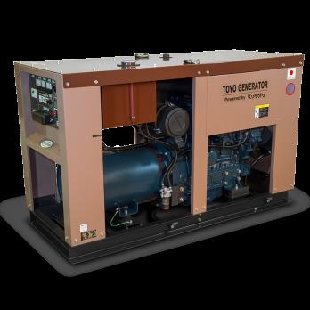 Дизельный генератор Toyo TG-40TPC в кожухе Москва