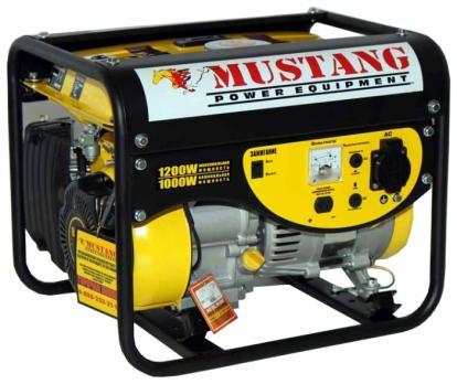 Бензиновый генератор MUSTANG CРG 1200