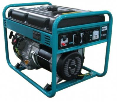 Бензиновый генератор WERT G 3000