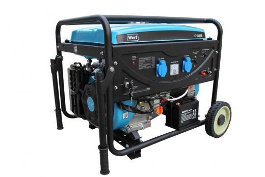 Бензиновый Генератор WERT G8000E