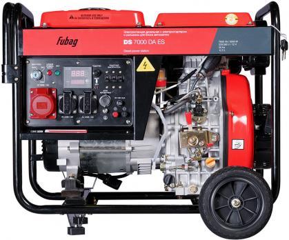 Дизельный генератор FUBAG DS 7000 DA ES Москва