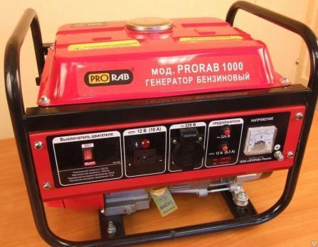 Бензиновая электростанция PRORAB 1000